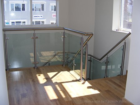 Large Glass & Stainless Balcony