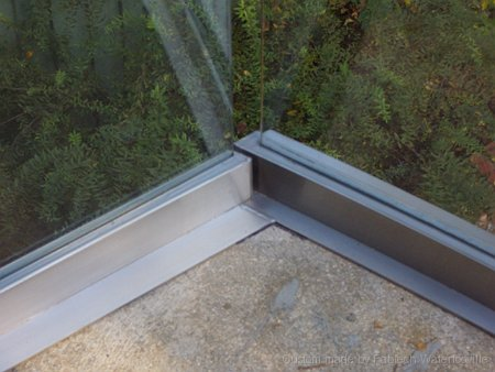 Glass Fixing System on Balcony